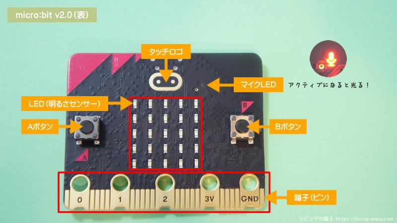 マイクロビットV2表