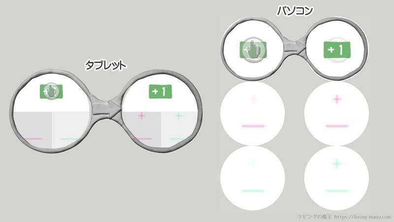 viscuit 2進数 メガネ1